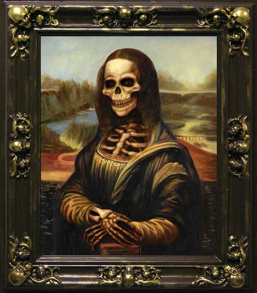 Mona Lisa Lenticular Picture Frame