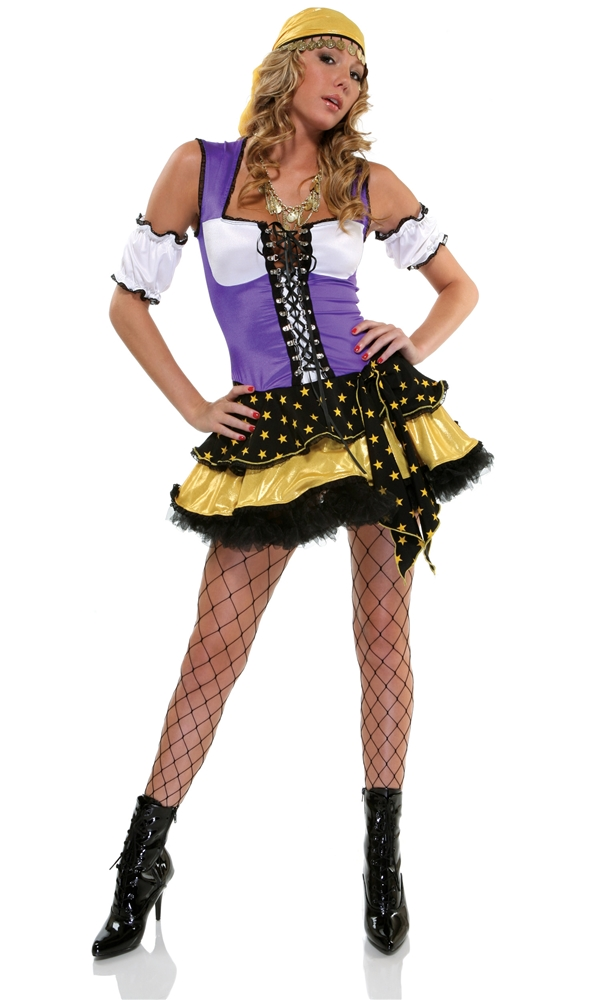 Good Fortune Gypsy Adult Womens Costume