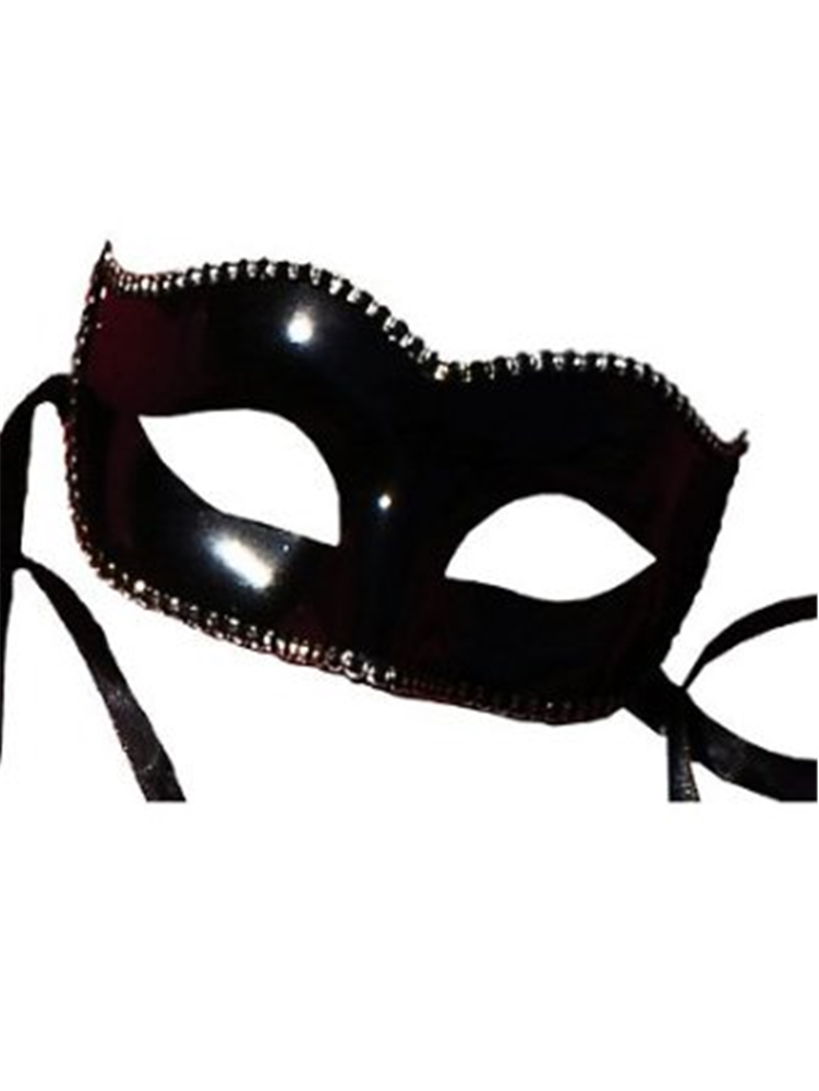 Plastic Trim Black Mask