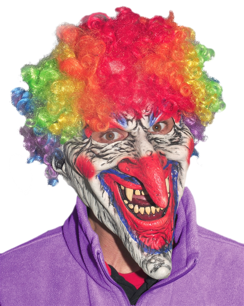 Dastardly Clown Adult Mask