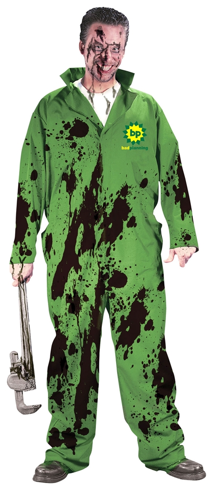 Bad Oil Disaster Adult Costume