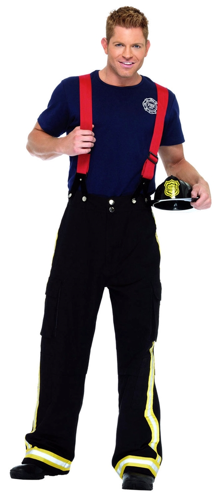 Fire Captain Adult Mens Costume