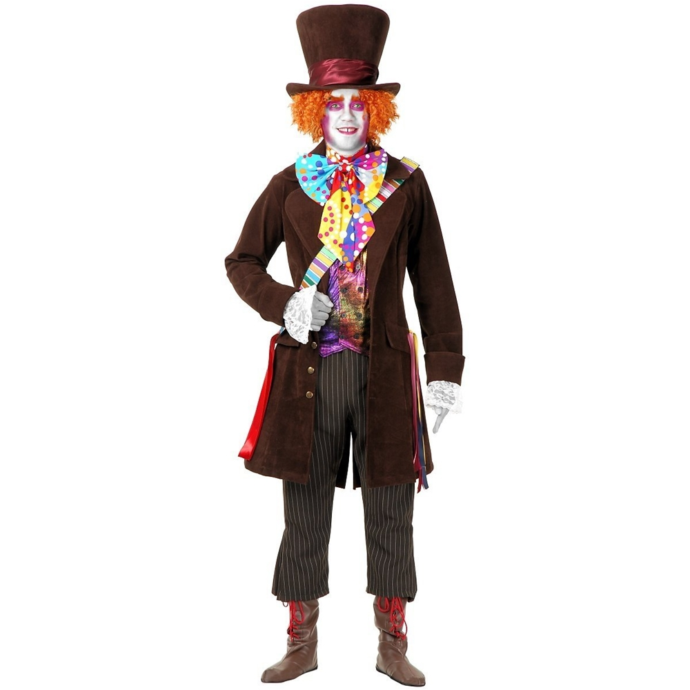 Mad Hatter Deluxe Adult Mens Costume