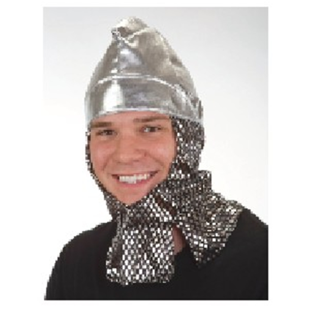 Metallic Knight Helmet