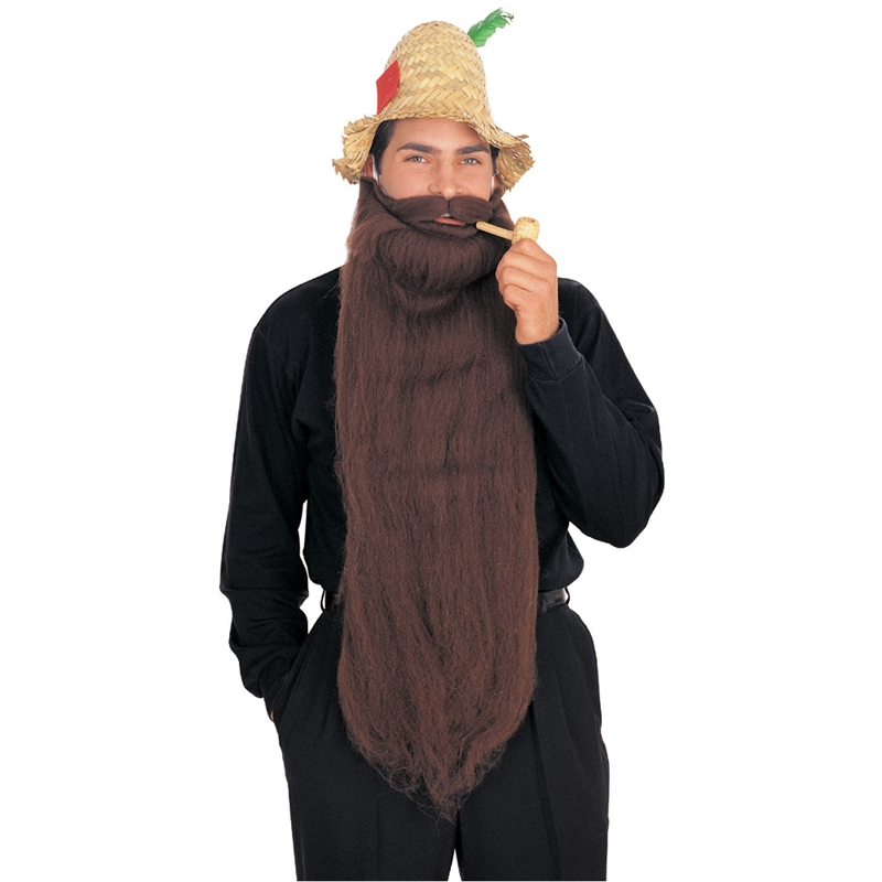 Image of 25 Inch Long Brown Beard