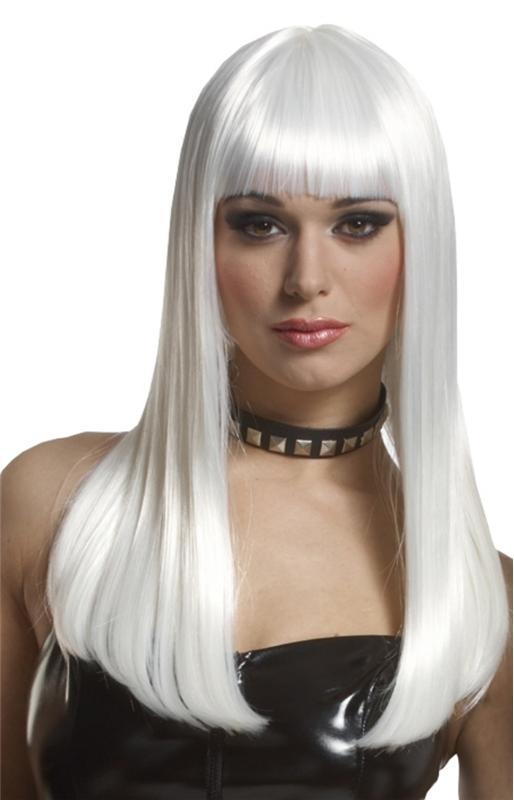Platinum Mademoiselle Adult Wig
