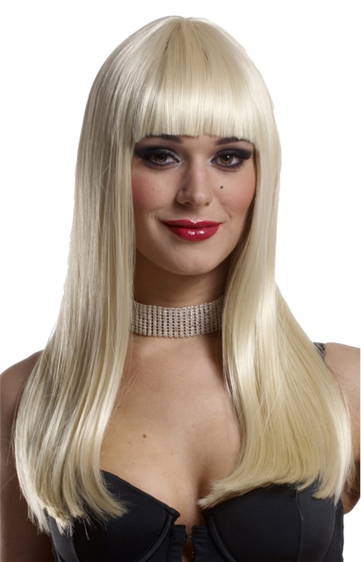 Blonde Mademoiselle Adult Wig