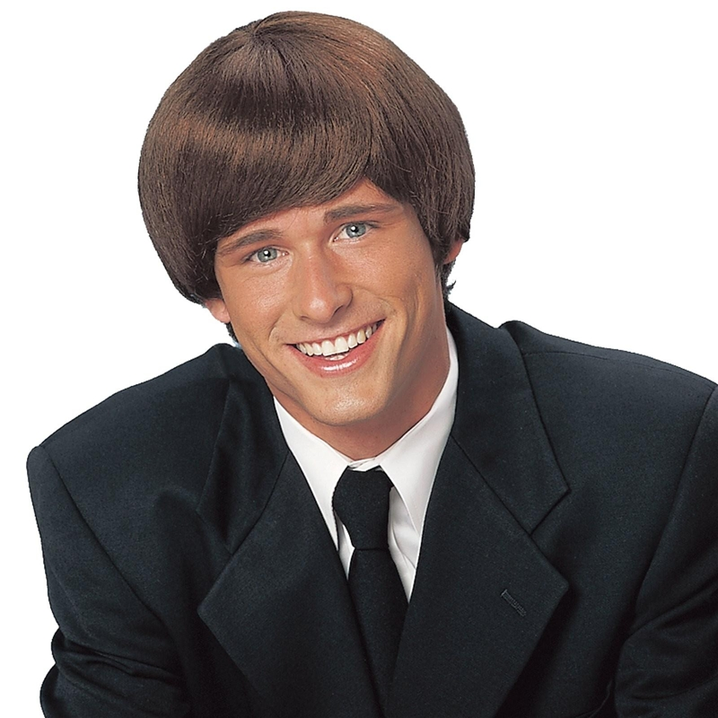 Brown 60s Mod Adult Wig