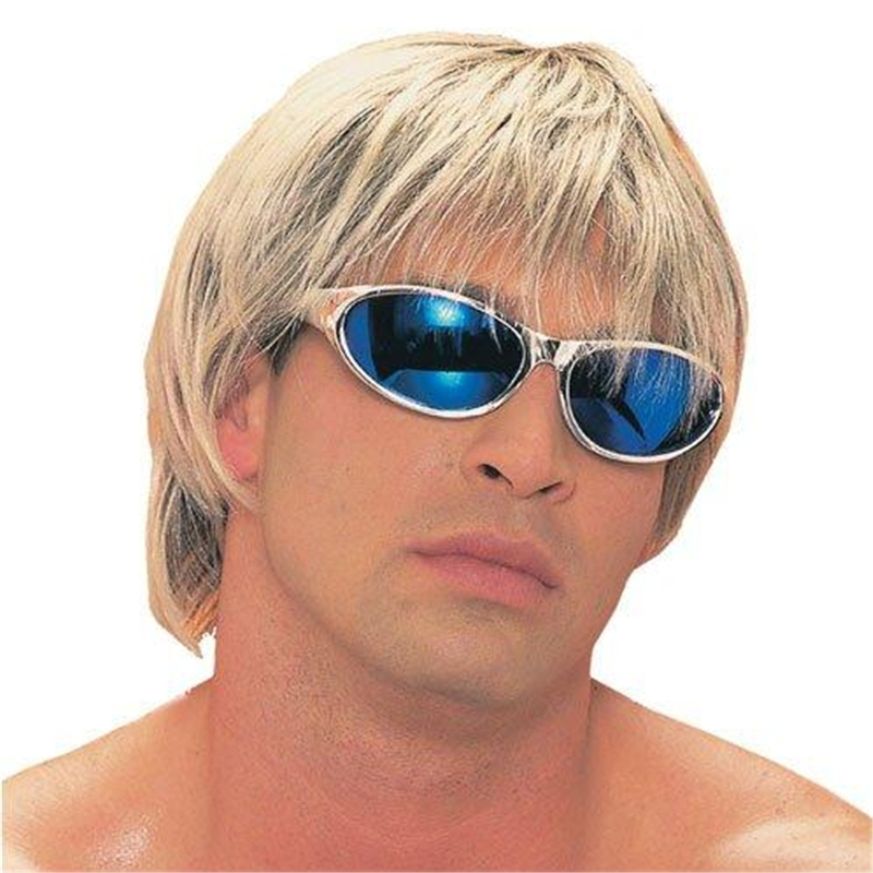Blonde Surfer Dude Adult Wig