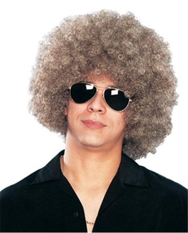 Image of Disco Afro Mixed Adult Wig