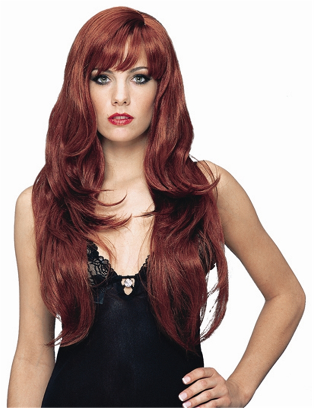 Dream Girl Red Adult Wig