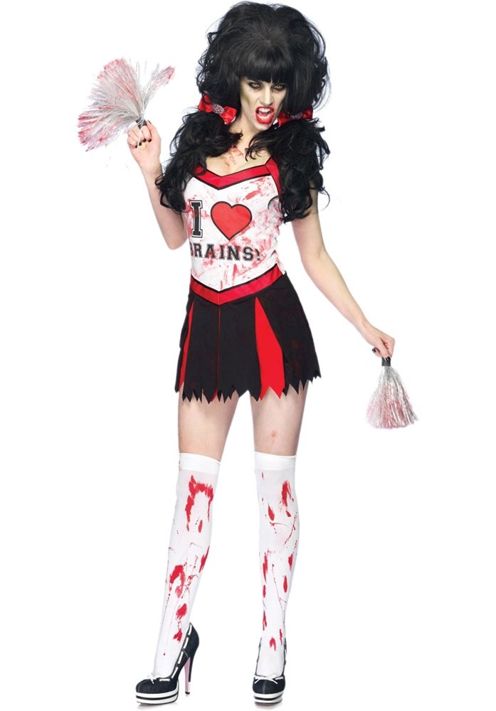 Cheer Zombie Adult Womens Costume