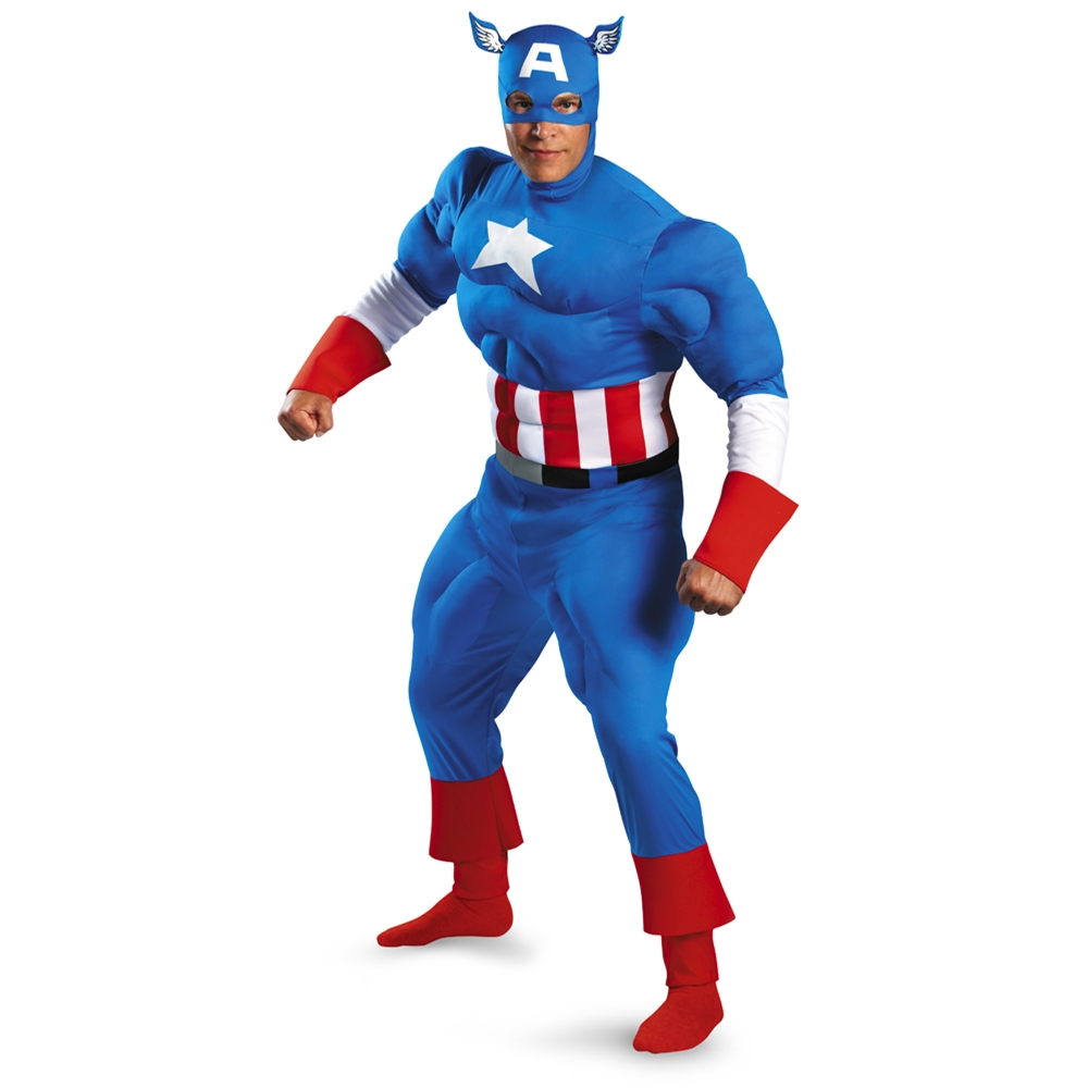 Marvel Captain America Adult Mens Costume