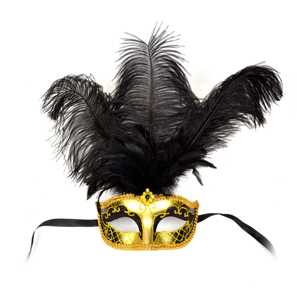 Venetian Feather Mask
