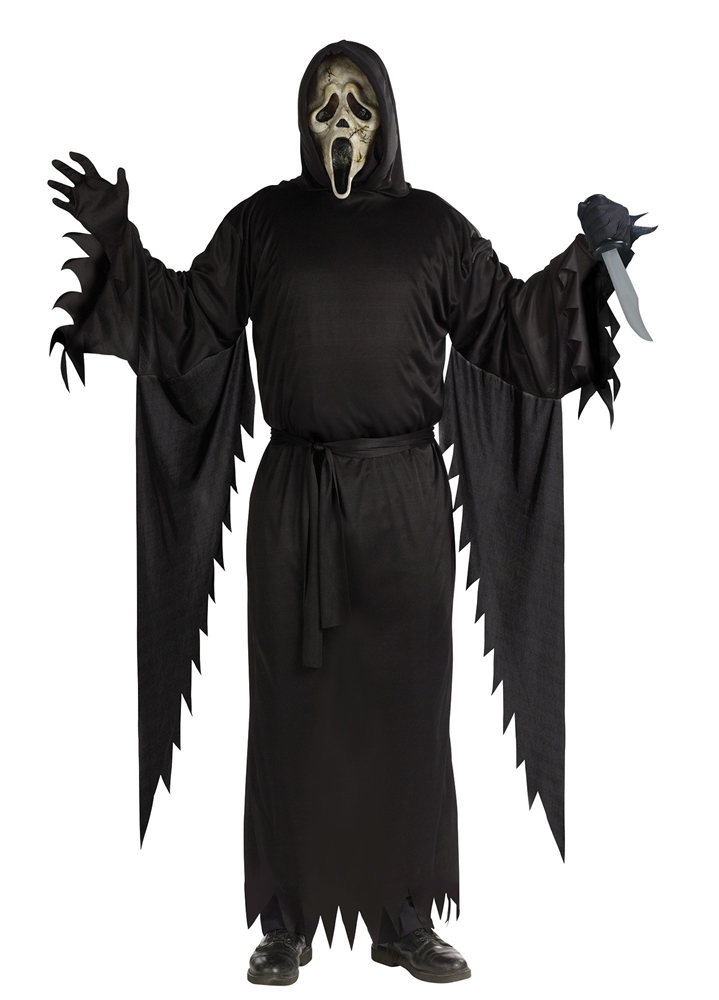 Scream Zombie Ghost Face Adult Mens Costume