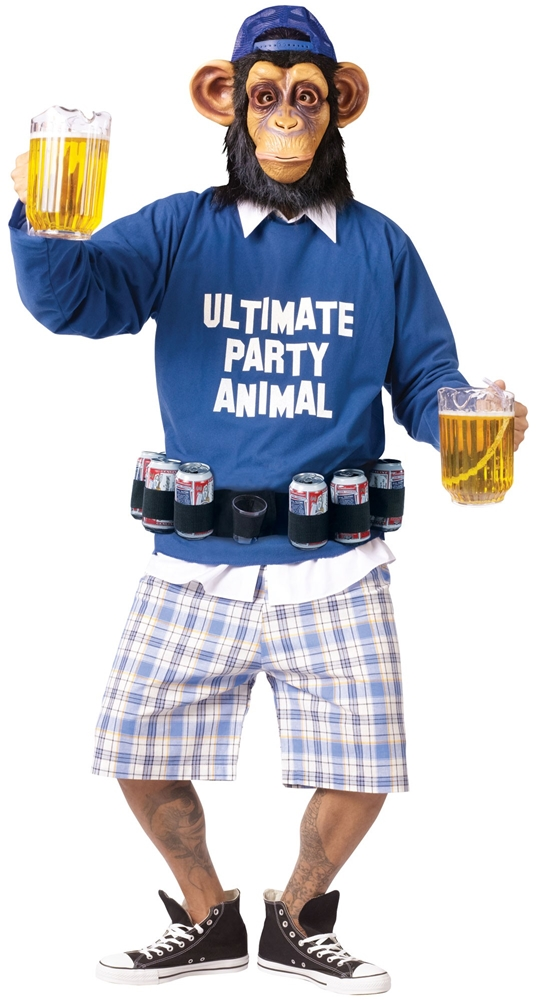 Ultimate Party Animal Adult Mens Costume (2)