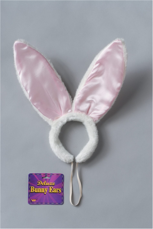 Bunny Ears Satin Plush