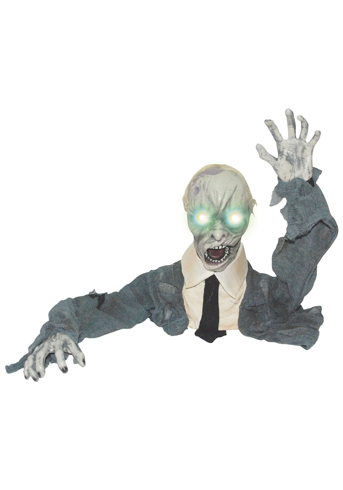 Ground Breaker Zombie Animated Prop
