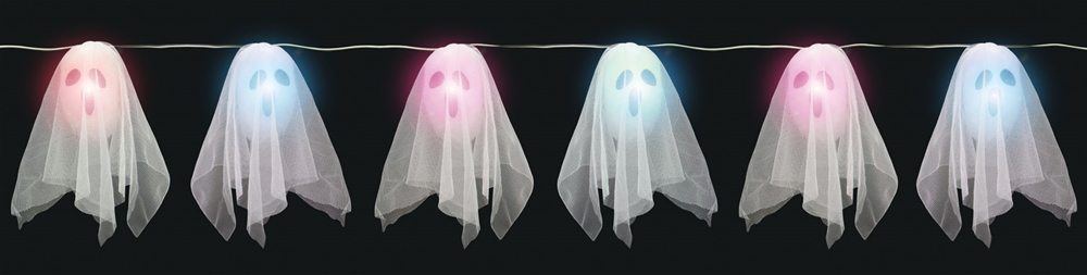 Light Up Ghost String Prop by Sunstar Industries Inc.