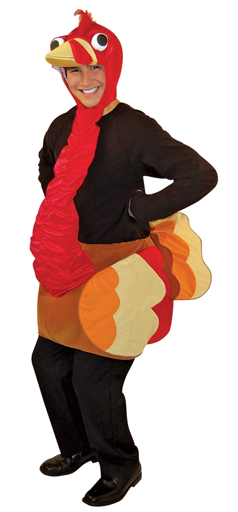 Lightweight Turkey Adult Unisex Costume