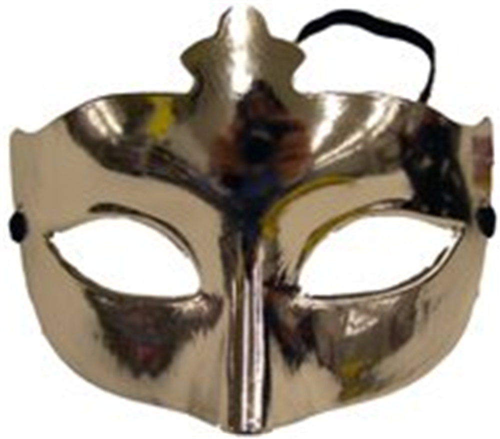 Plastic Party Mask (Colors May Vary)