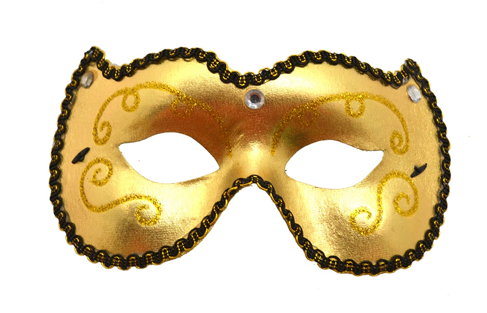 Party Wear Masquerade Mask (More Colors) by K.B.W. Global Corp