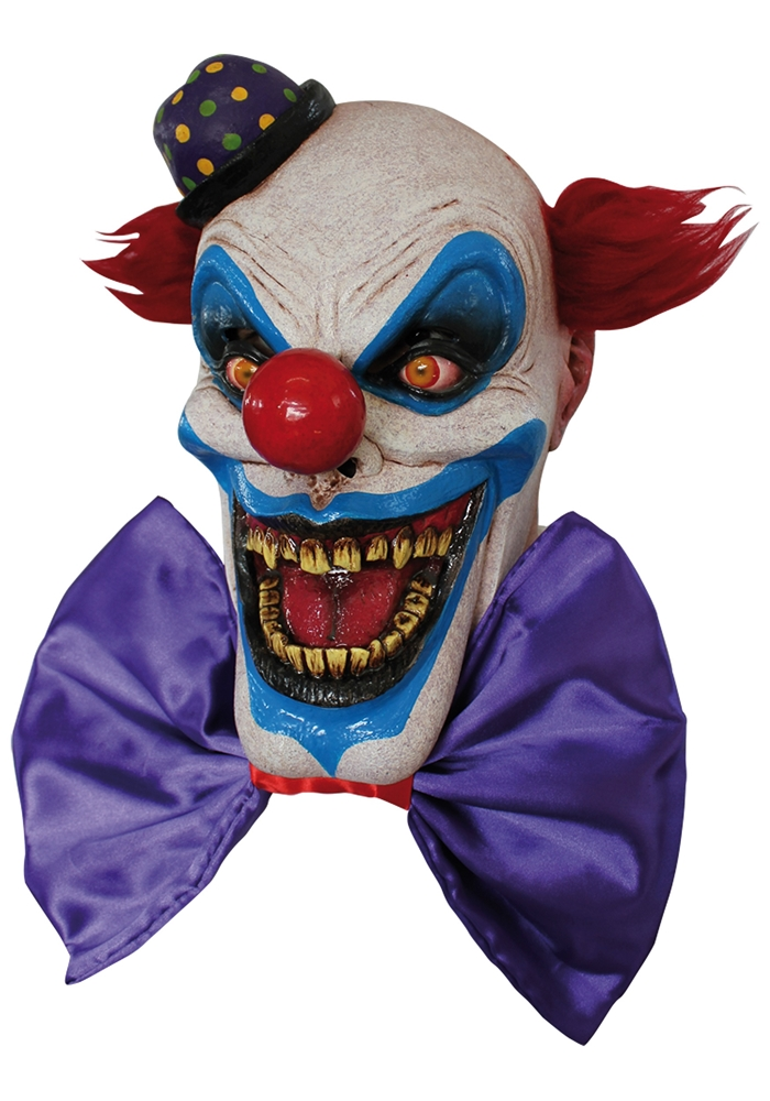 Chompo the Clown Adult Mask