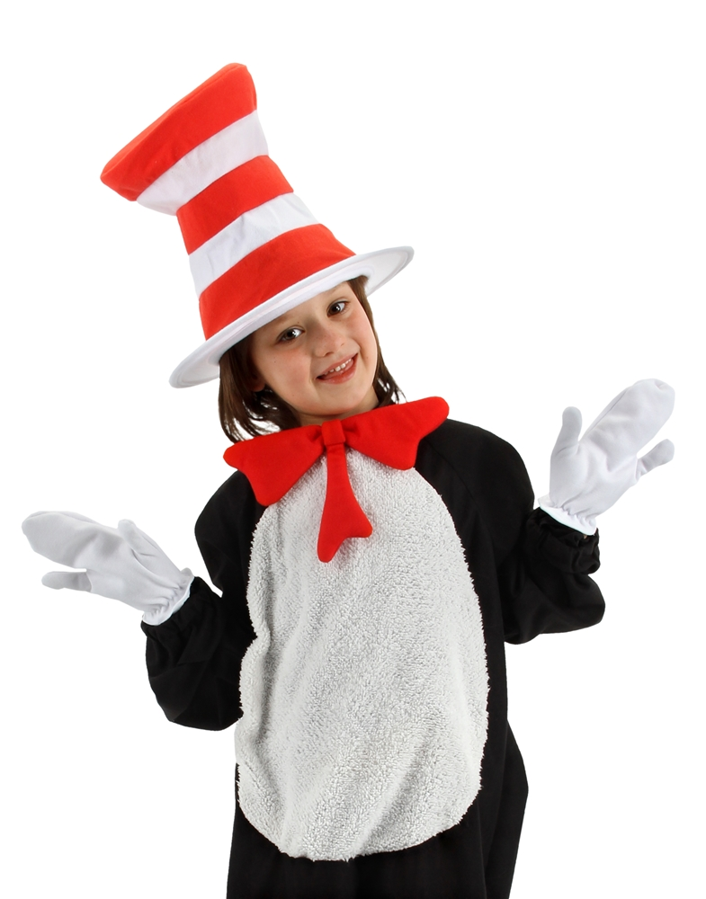 Dr. Seuss Cat In The Hat Child Accessory Kit by Elope