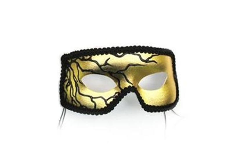 Image of Black Lightning Adult Mask