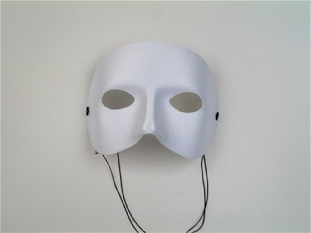 White Casanova Adult Mask