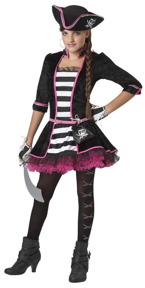 High Seas Pirate Tween Costume