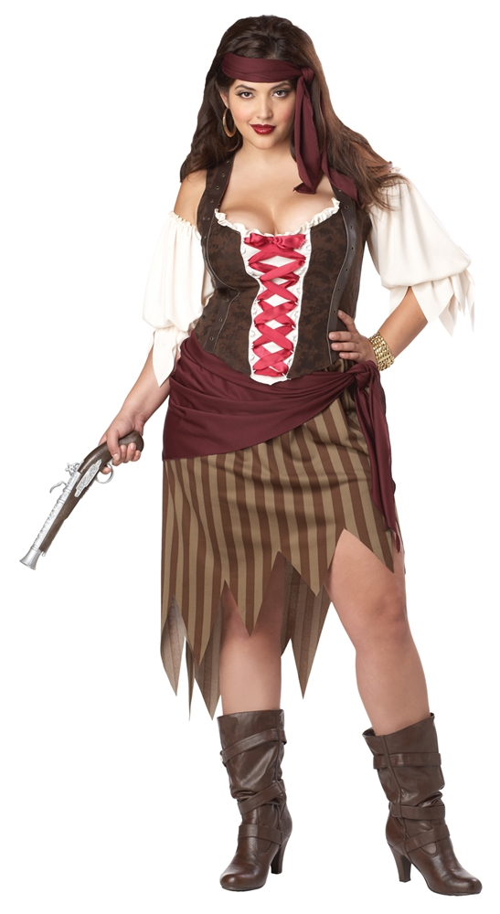 Buccaneer Beauty Adult Womens Plus Size Costume by California Costumes
