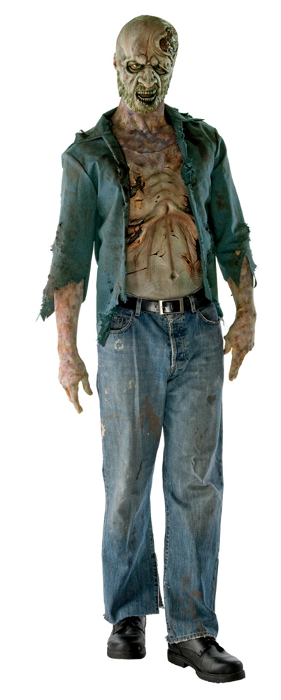 The Walking Dead Zombie Adult Costume