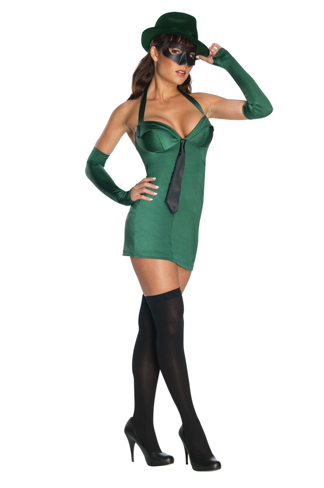 Green Hornet Girl Adult Womens Costume by Rubies