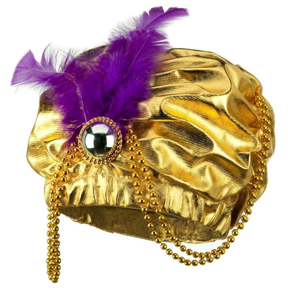 Metallic Arabian Princess Hat by Jacobson Hat Co
