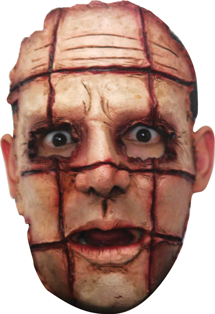 Sliced Up Half Mask