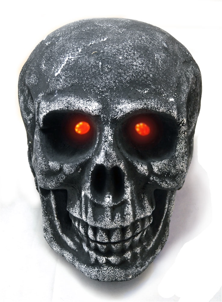 XLarge Skull with Red Eyes