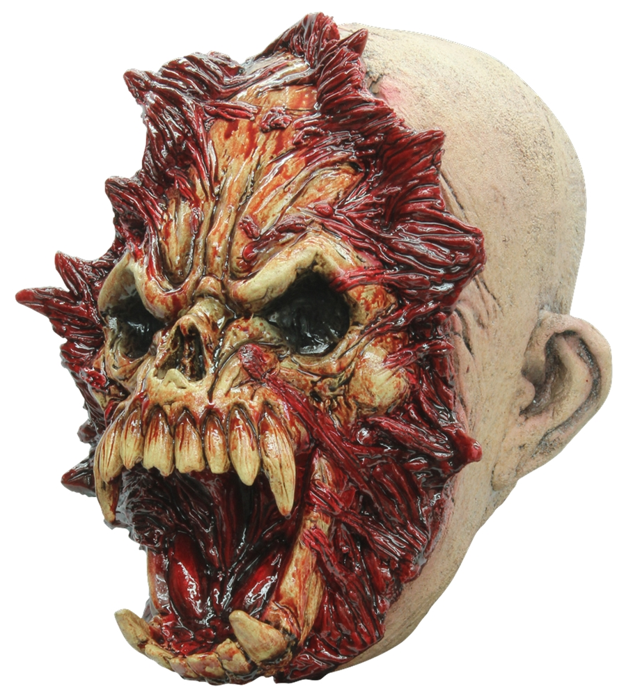 Open Mind Gruesome Latex Mask