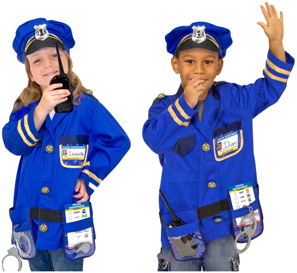 Police Officer Role Play Costume Set (Play Costumes)