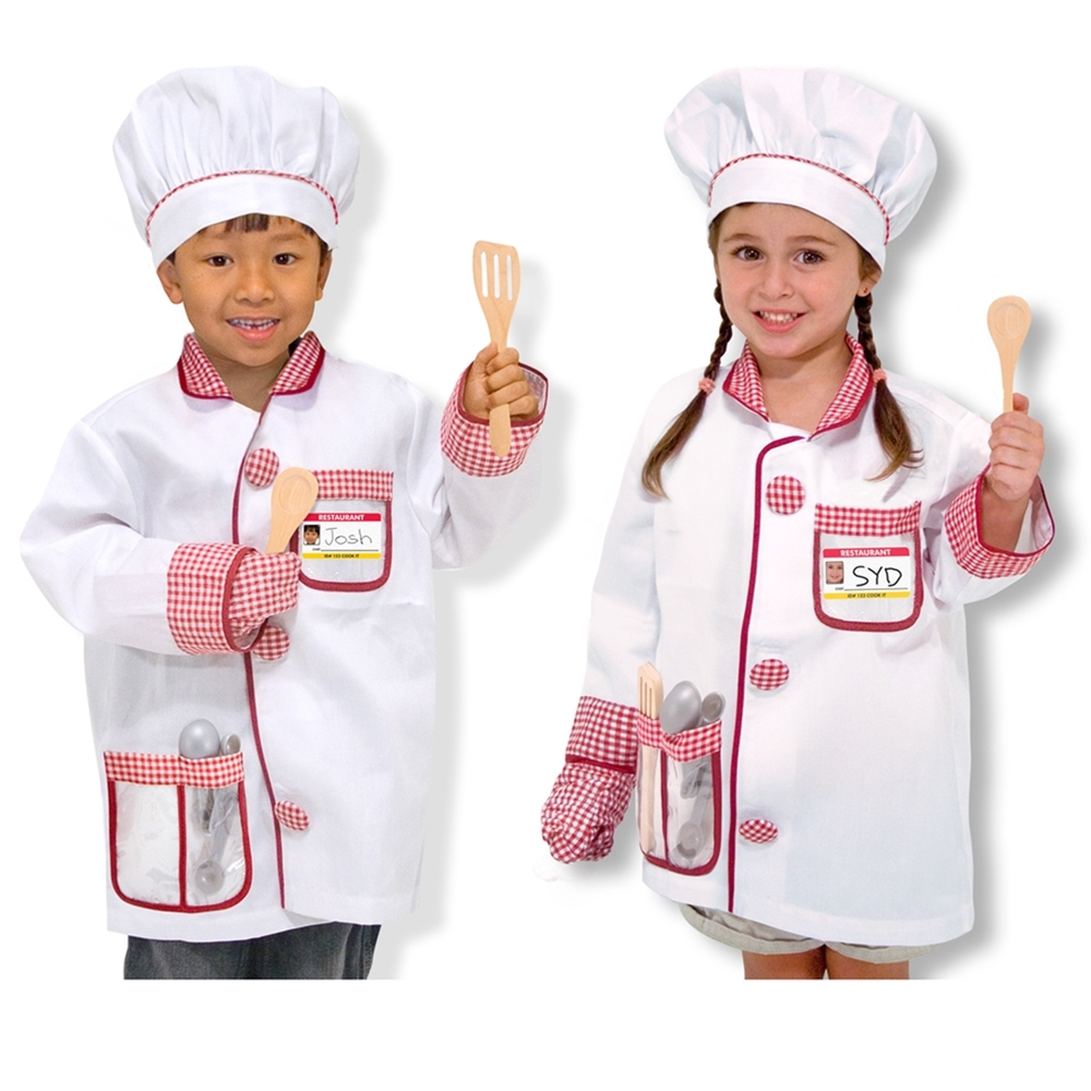 Chef Role Play Costume Set (Play Costumes)
