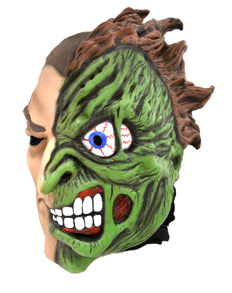 Two-Face Latex Mask