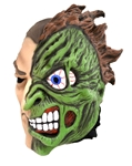 Two-Face-Latex-Mask