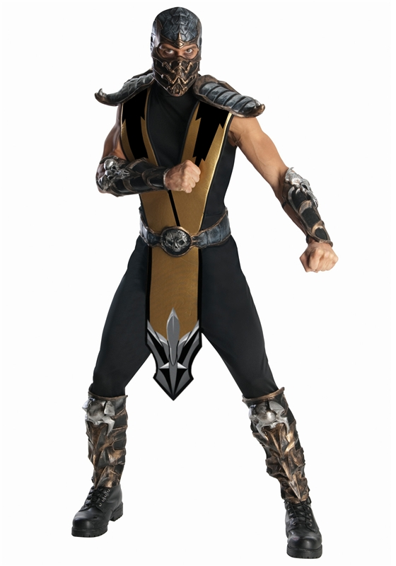 Mortal Kombat Scorpion Adult Mens Costume