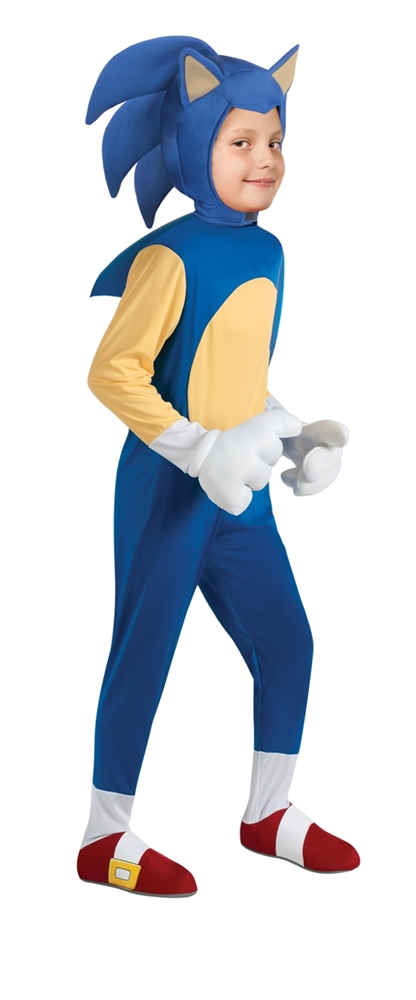 Sonic The Hedgehog Deluxe Child Costume