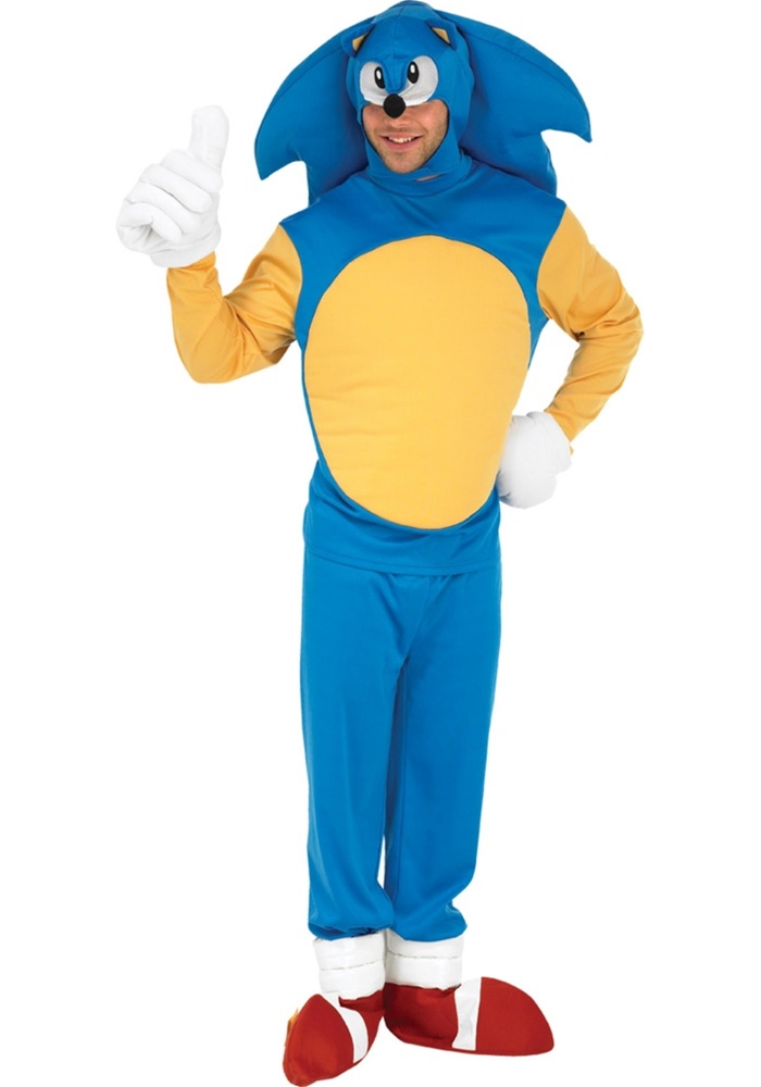 Sonic the Hedgehog Deluxe Adult Mens Costume (Adult Hedgehog)