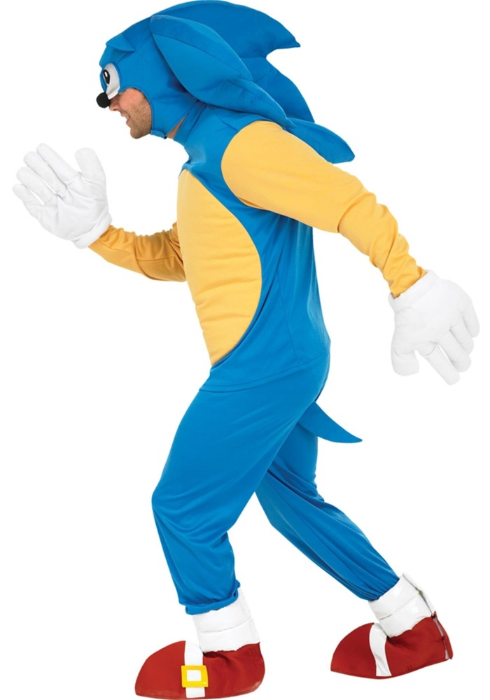 Sonic The Hedgehog Deluxe Adult Mens Costume