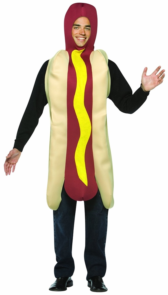 Hot Dog Lightweight Adult Mens Costume