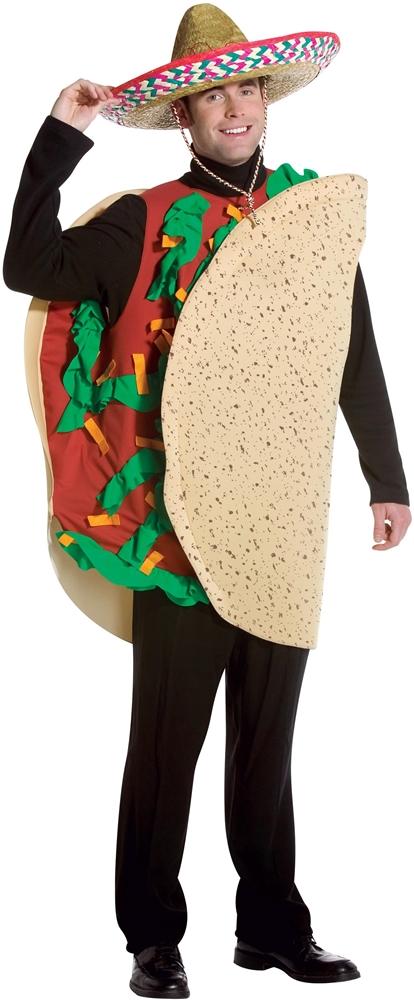 Delicious Taco Adult Unisex Costume