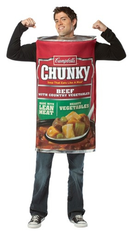 Campbells Chunky Can Adult Men Costume
