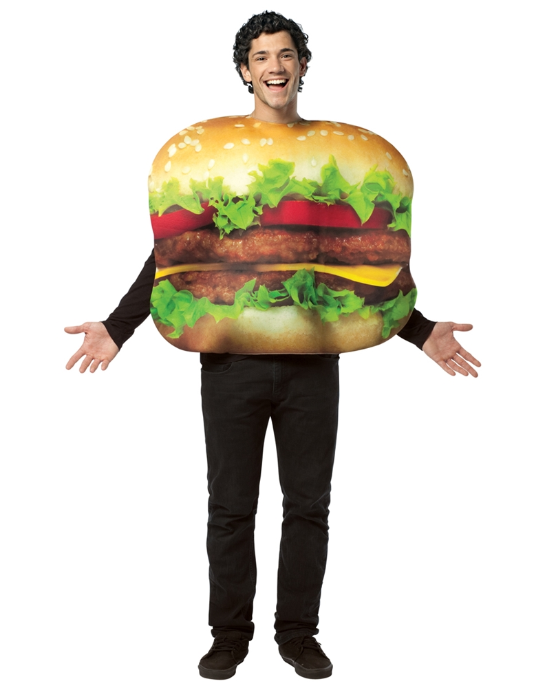 Get Real Cheeseburger Adult Unisex Costume
